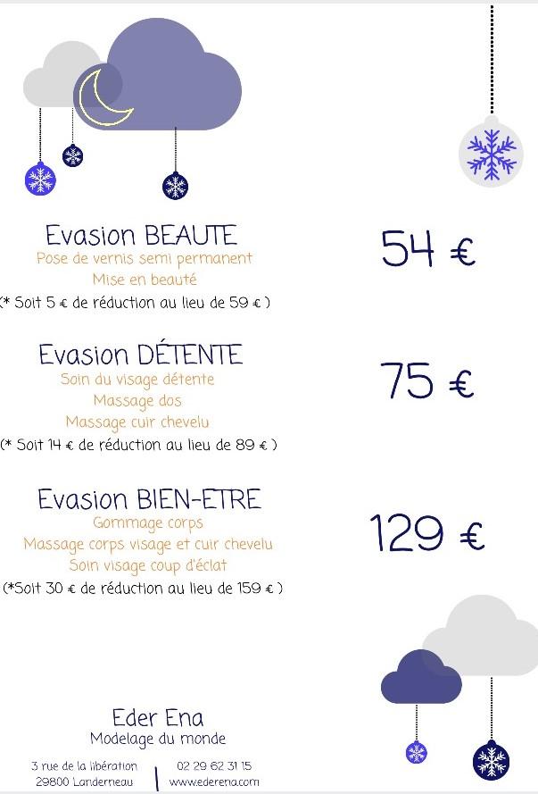Evasions Noel 2017